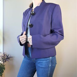 Vintage purple blazer.